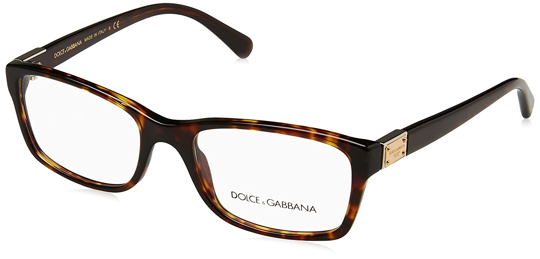 3457c66f1f3303 DOLCE   GABBANA Monture lunettes de vue DG 3170 502 La Havane 54MM   Amazon.fr  Vêtements et accessoires