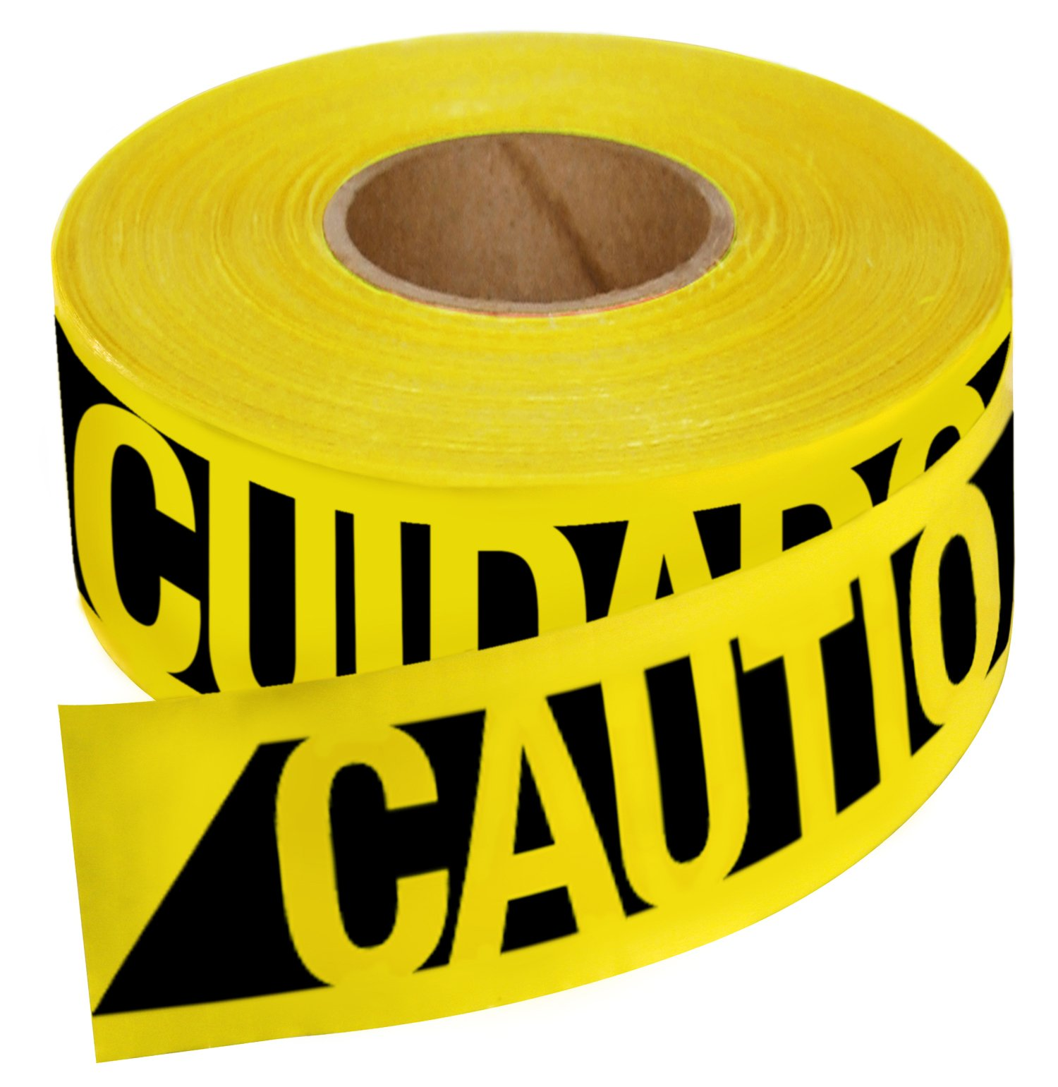 Empire Level 76-0600 Reinforced Construction Grade Caution Tape, 500 Feet by 3-Inch by Empire Level