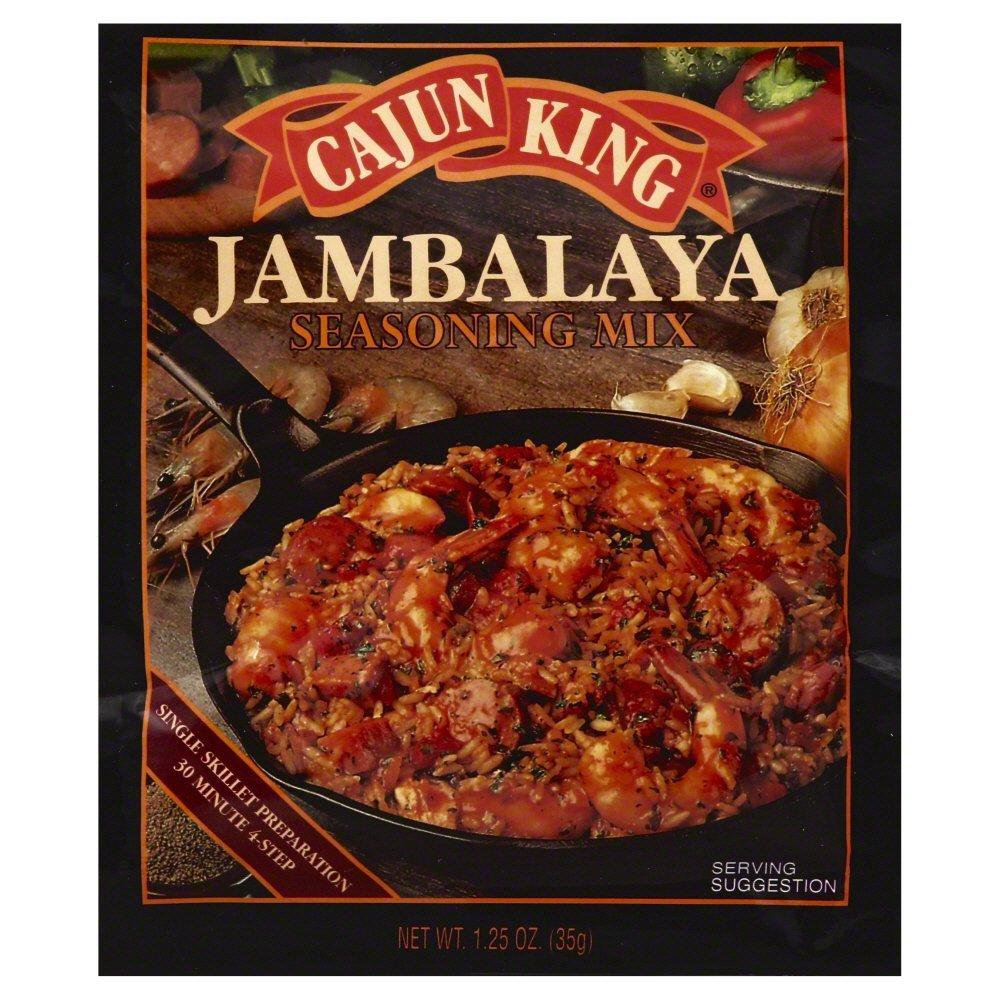 Cajun King Seasoning Mix Jambalaya 1.25 OZ (Pack of 3)