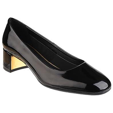 The Flex Flexx Flex The Pump Up Suede Lds Blk 7.5  Amazon   Schuhe ... a6b388