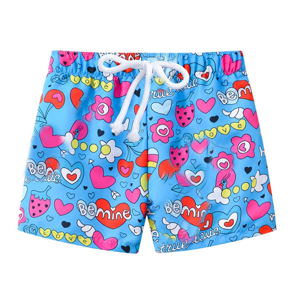 SIN vimklo Boy Summer Print Swimwear Swimsuit Beach Pants Casual Shorts Trunks