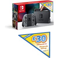 Nintendo Switch (Grey) + £30 Nintendo eShop Voucher