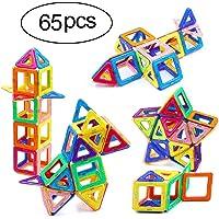 Ranphykx 65-Piece Magnetic Building Blocks Set