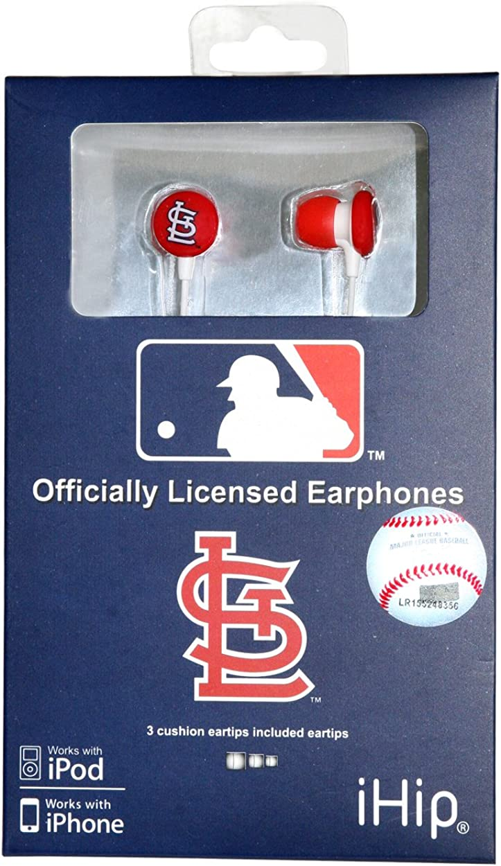 Louis Cardinals St NES Group HPBBSTLB Logo Baseball Over the Head Headphones