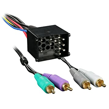71tz8T3DFSL._SY355_ amazon com metra 70 8591 radio wiring harness for bmw amp Metra Wiring Harness Diagram at bayanpartner.co