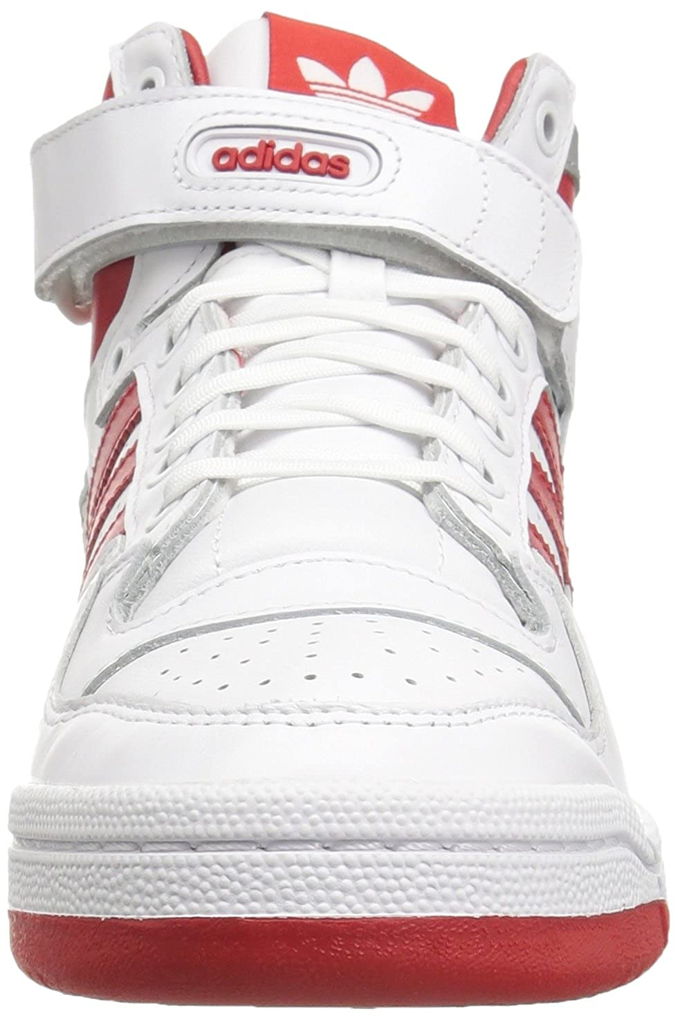 cheaper 6a17e eed89 Adidas OriginalsFORUM Mid Refined-M - Forum Moyen Raffiné Homme, Blanc (WhiteScarletSilver  Met.), (11 M US) Amazon.fr Chaussures et Sacs
