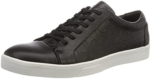 Mens Igor Brushed Ck Emboss Low-Top Sneakers Calvin Klein