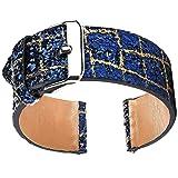 YJYdada TexturBling Glitter Leather Wrist Strap