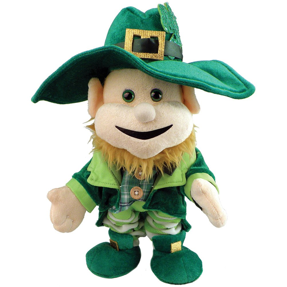 Amazon st patricks day singing dancing light up leprechaun amazon st patricks day singing dancing light up leprechaun plush doll party decoration green 12 x 6 x 5 baby altavistaventures