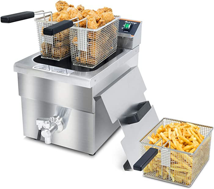 The Best Deep Fryer With Oil Drain