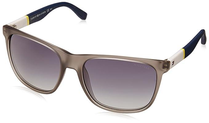 Tommy Hilfiger - Gafas de sol Wayfarer TH 1281/S HD para hombre, FME