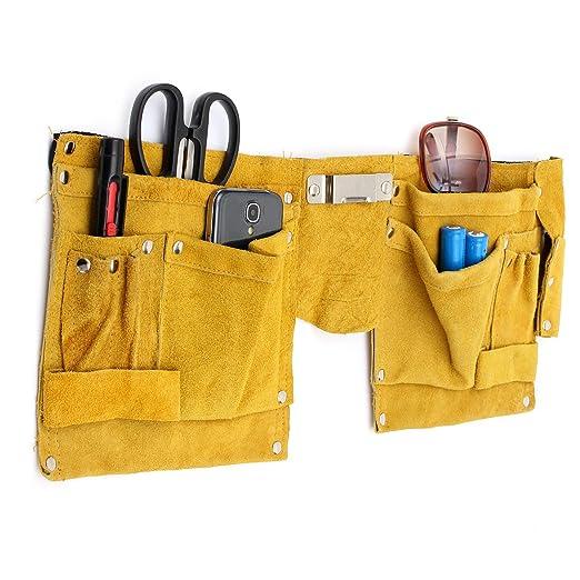 23 opinioni per Mohoo Borsa Porta Utensili/Borsa degli attrezzi Pelle sacchetto della tasca