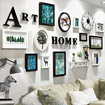 Gut Wandmontage Design Schlafzimmer Gemälde, Fotogalerie Rahmen Sets Von 12  Restaurant Malerei Wandmalereien Sofa Hintergrund