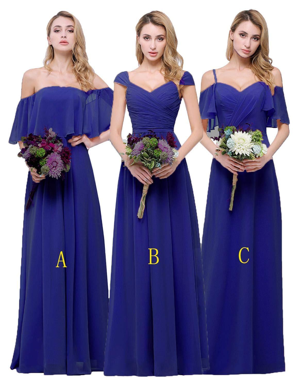 Royal Blue Wedding Bridesmaids Dresses