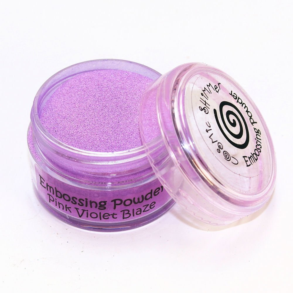 Cosmic Shimmer Blaze Empossing Powder, Pink Violet Creative Expressions CSEPPINVIO