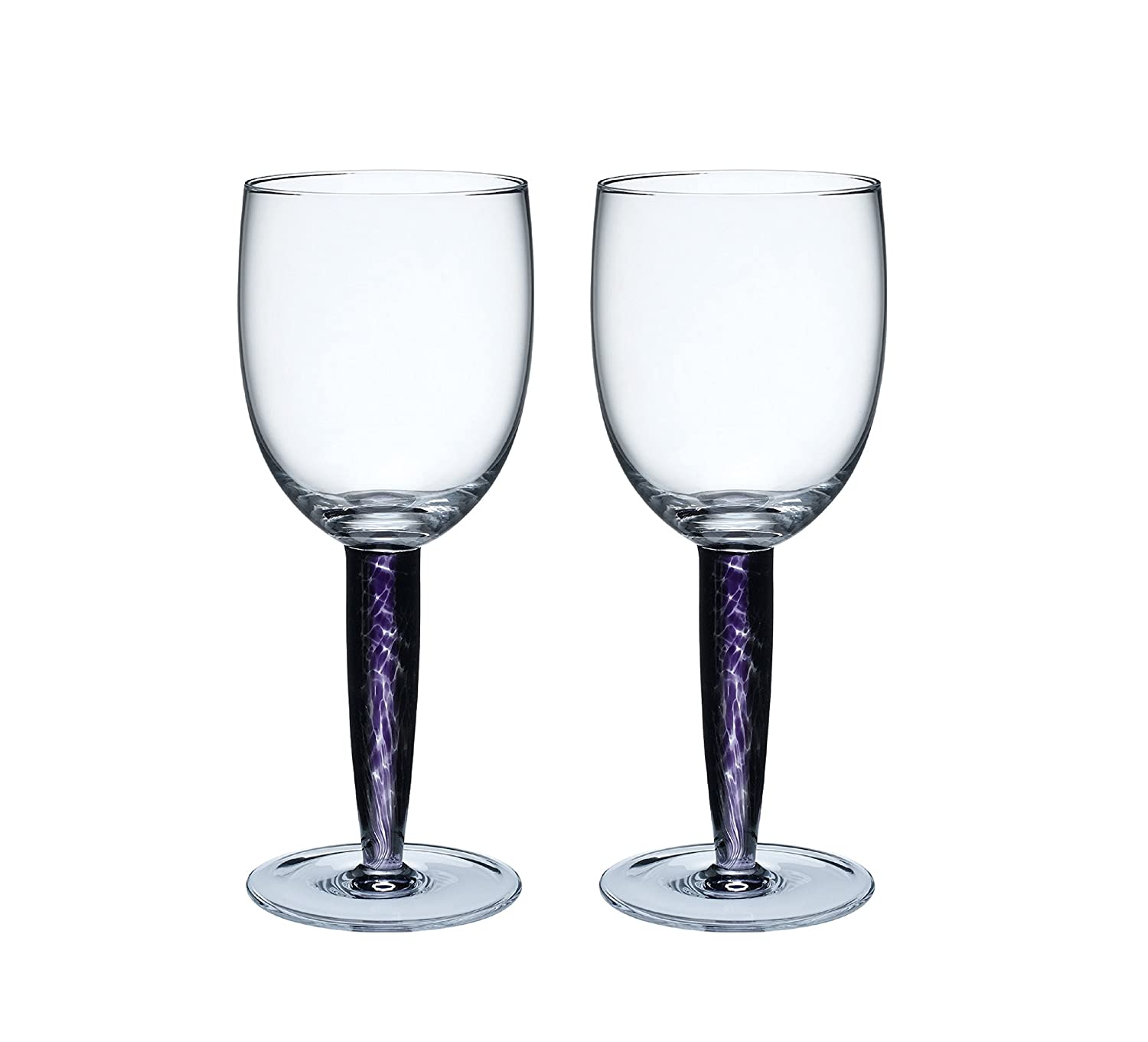 Denby Amethyst Red Wine Glass, 0.3L - Pack of 2 0.3L - Pack of 2 ATH-804/2