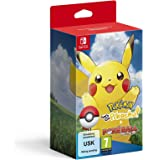 Nintendo Pokemon: Let's Go, Pikachu Including Poke Ball Plus