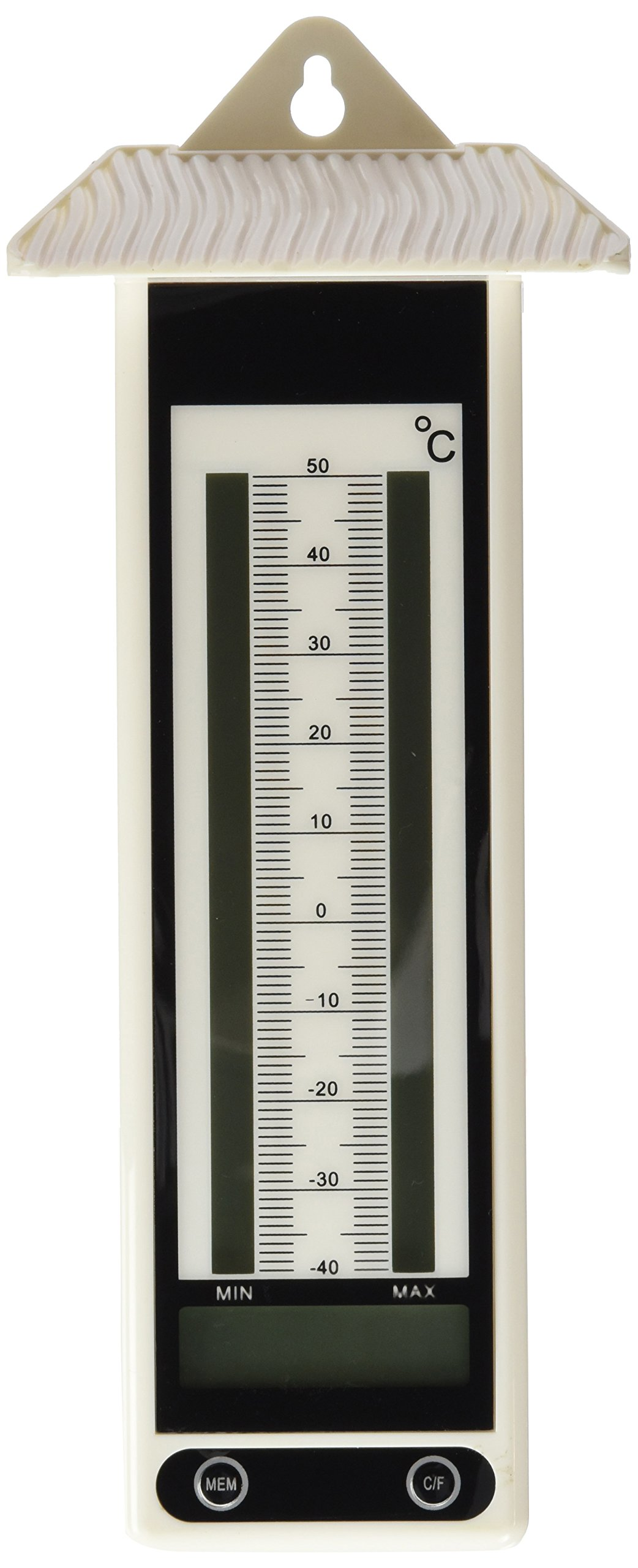 Greenhouses by ETI LCD Max Min Thermometer Black Ideal For Growing Rooms Growing Cabinets