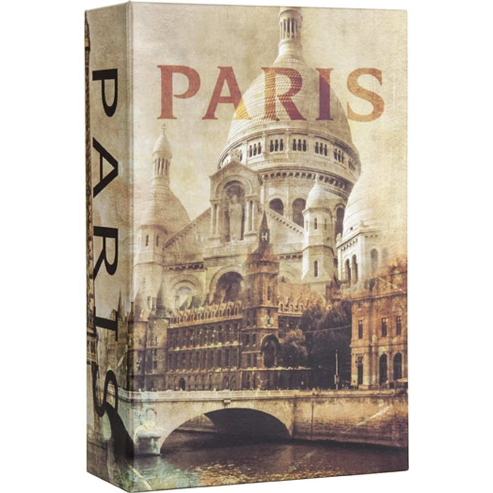 BARSKA CB12362 Paris Book Lock Box with Combination Lock by BARSKA