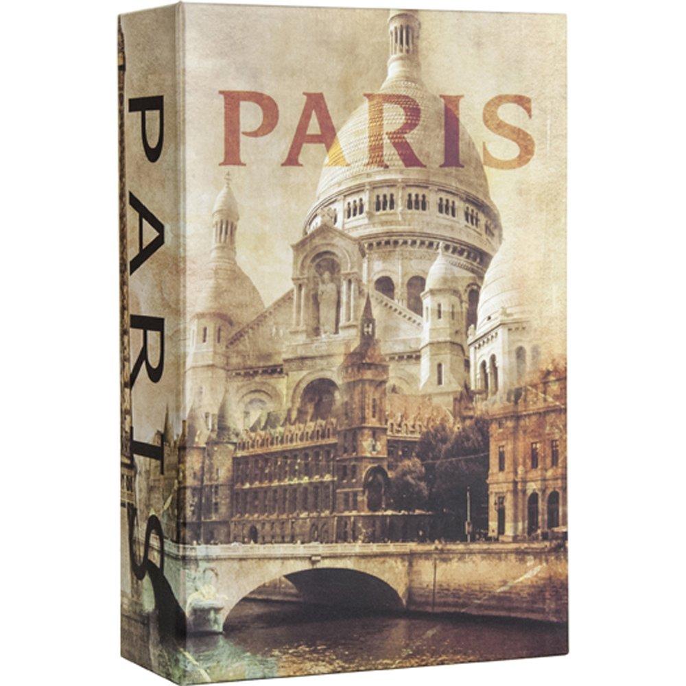 BARSKA CB12362 Paris Book Lock Box with Combination Lock