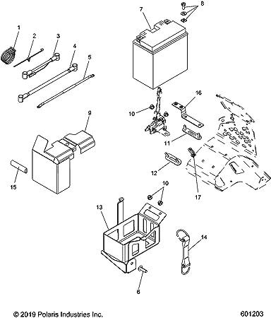 wiring diagram polaris indy 600 amazon com polaris box  battery automotive  amazon com polaris box  battery