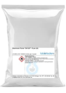 250 g aluminio polvo 5413uf (aluminio polvo) – ultrafein, 5µm – laborladen®
