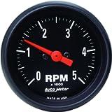 AUTO METER 2697 Z-Series in-Dash Electric Tachometer,2.3125 in.