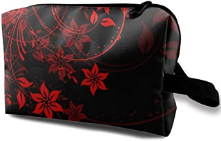 Floral Design Small Travel Toiletry Bag Super Light Toiletry Organizer for Overnight Trip Bag