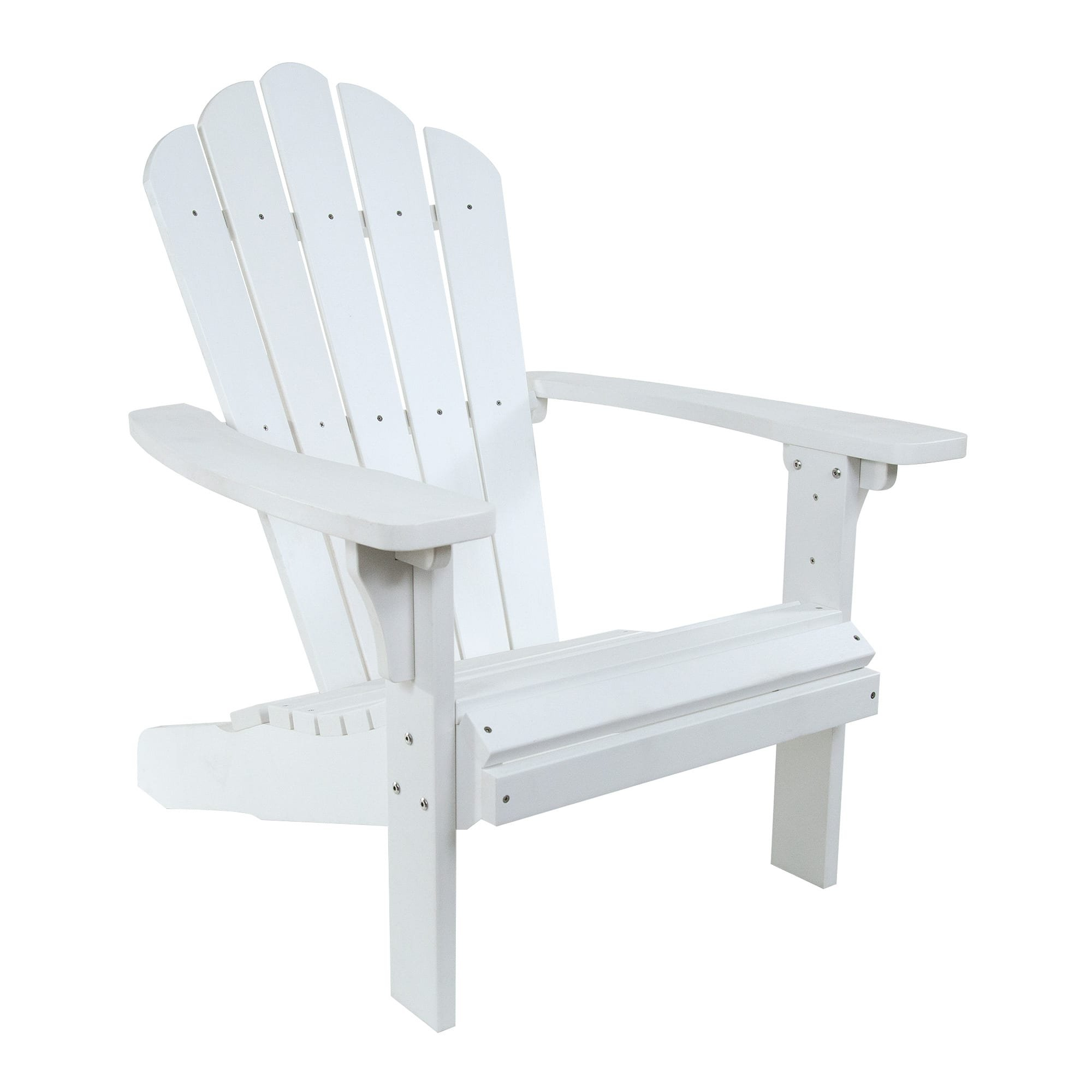 Shine Company 7615WT West Palm Adirondack Chair, White