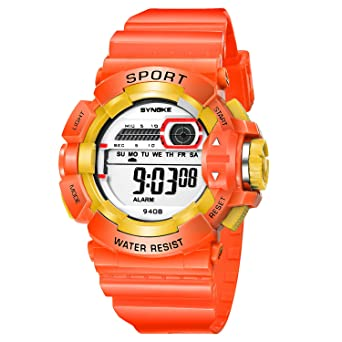 Stylish Girls Boys Digital Watches for Sports School Reloj para Niños