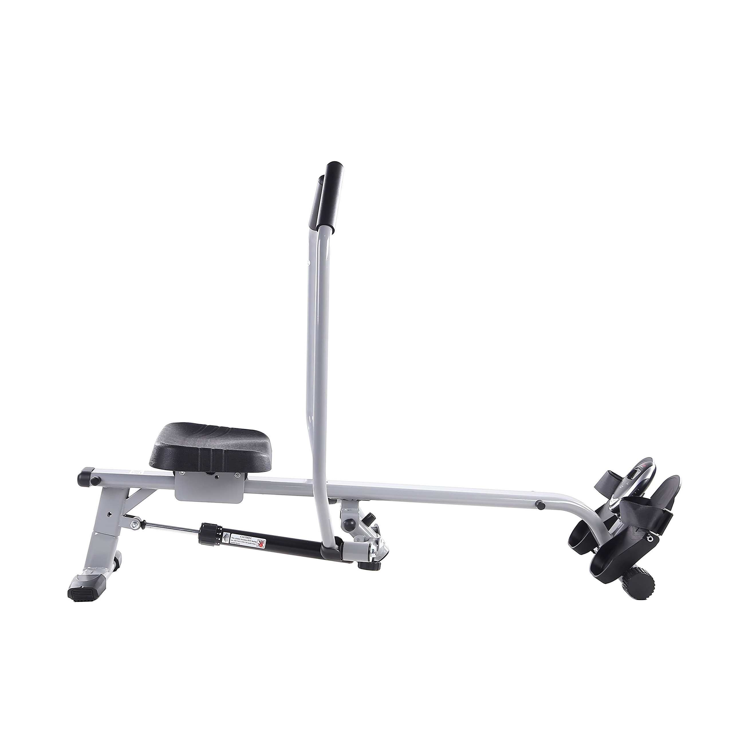 Sunny Health & Fitness SF-RW5639 Full Motion Rowing Machine Rower w/ 350 lb Weight Capacity and LCD Monitor by Sunny Health & Fitness (Image #13)