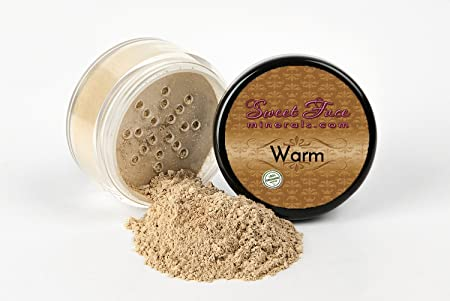 WARM NEUTRAL FOUNDATION Sample to Bulk Sizes Mineral Makeup Matte Jar Bare Face Powder Sheer Natural Cover 1 Pound Bulk
