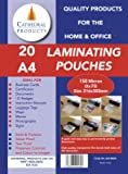 Cathedral Laminating pouches 150 micron 20pk A4