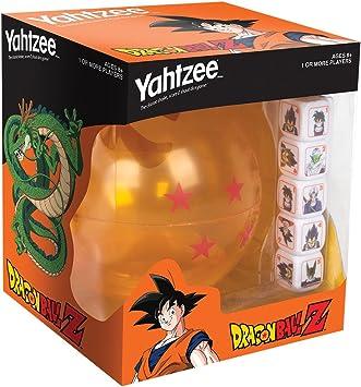 USAopoly Dragon Ball-Z Yahtzee Juego De Mesa: Amazon.es: Juguetes y juegos