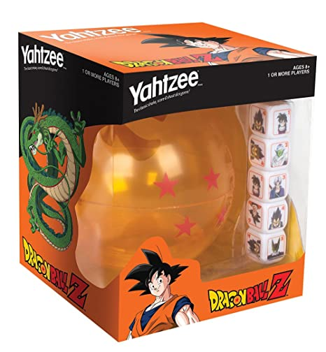 Hasbro USAopoly Dragon Ball-Z Yahtzee Game
