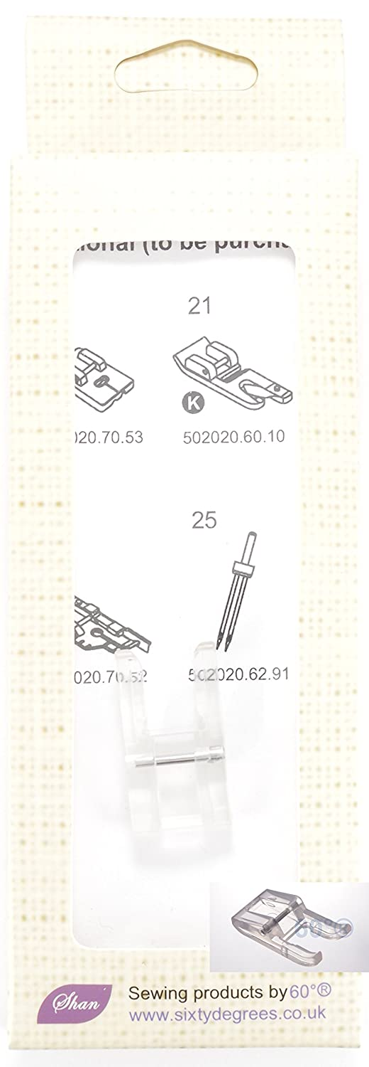 Clear Open Toe Sewing Machine Presser Foot by 60°®