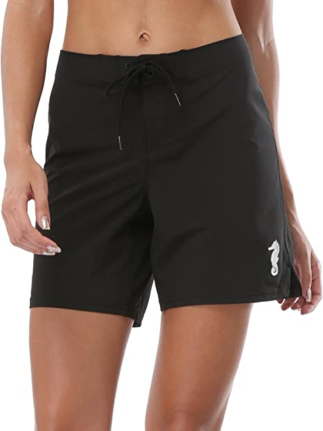 Women/'s Beach By Exist Shorts White Solid Pick Your Size