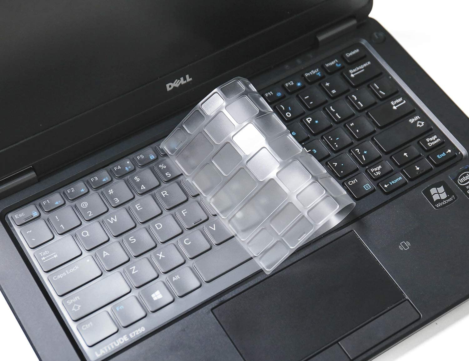 Ultra Thin Keyboard Cover for Dell Latitude E7250 E5250 E7270 E7370 E5270 E7389 E5270 / Latitude 7290 7280 7380 7390 Soft-Touch TPU Protective Skin