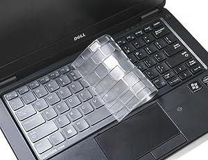 Ultra Thin Keyboard Cover for Dell Latitude E7250 E5250 E7270 E7370 E5270 E7389 E5270 / Latitude 7290 7280 7380 7390 Soft-Touch TPU Protective Skin