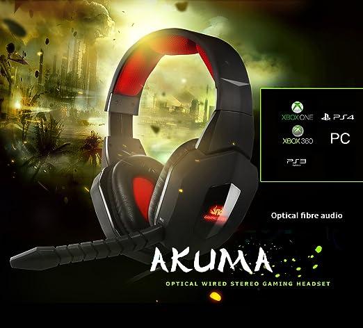 2 opinioni per Sumvision PC Console Cuffie Per Giochi Cuffia Auricolare Nemesis Akuma Wired