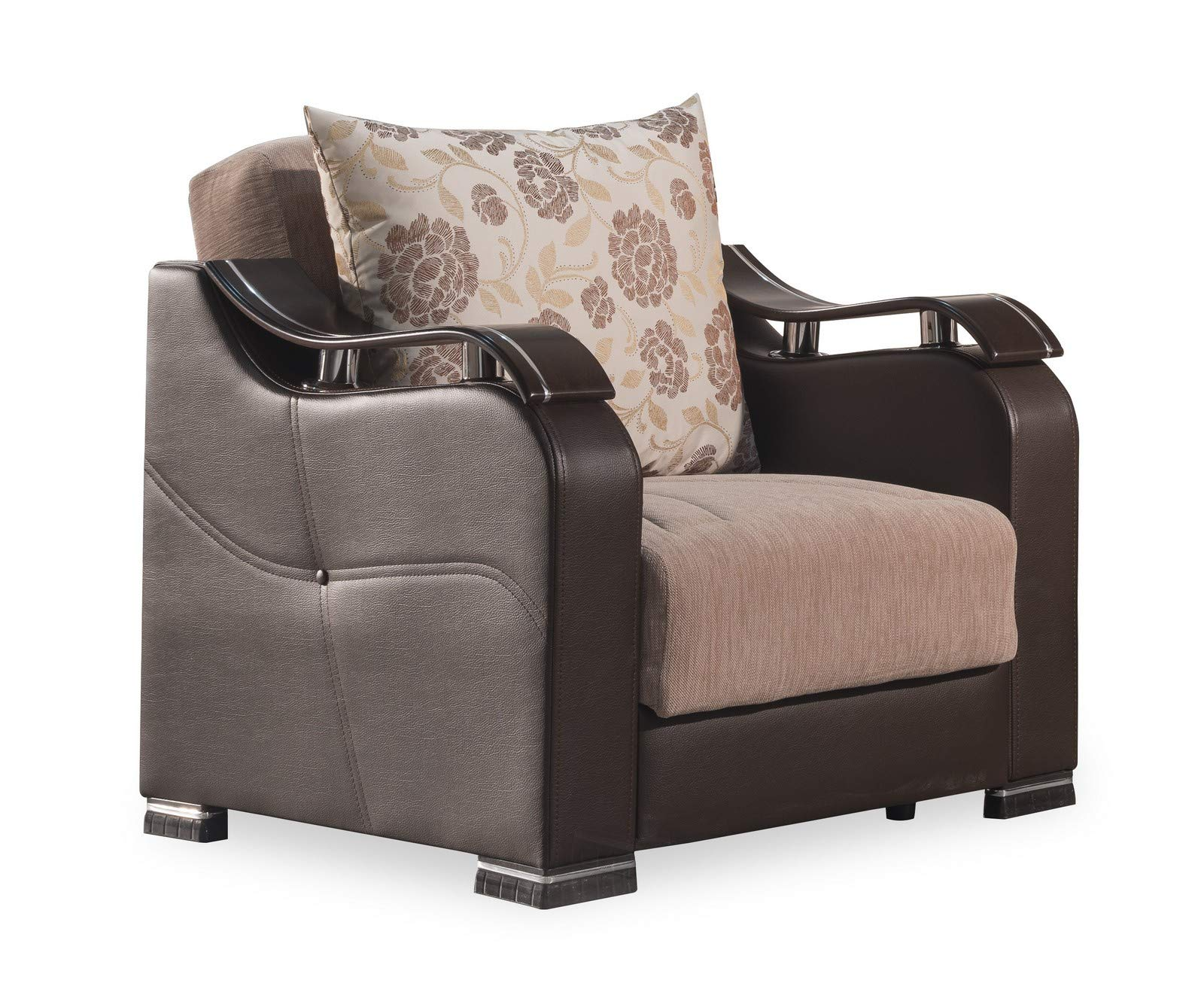 Casamode Horizon Arm Chair Beige Chenille