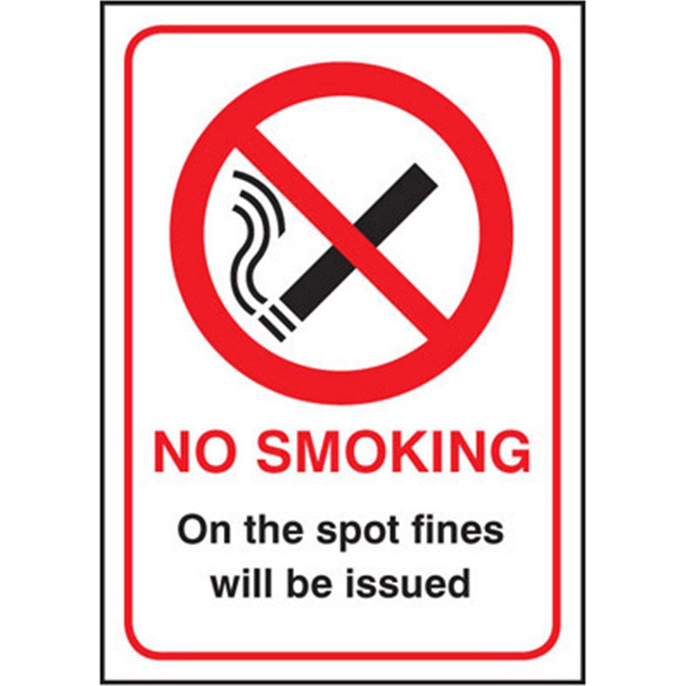 Advanced Scan adhesivo de prohibido fumar en diseño de ...
