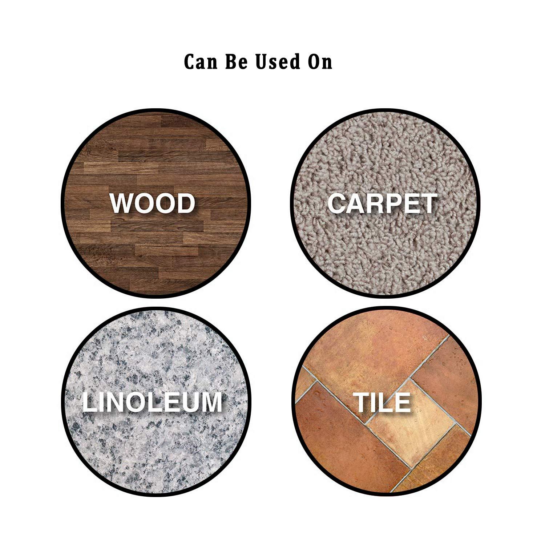 NEPAK 24 piezas Furniture Sliders,Discos para desplazar muebles pesados,almohadillas para protecci/ón del suelo,reutilizables