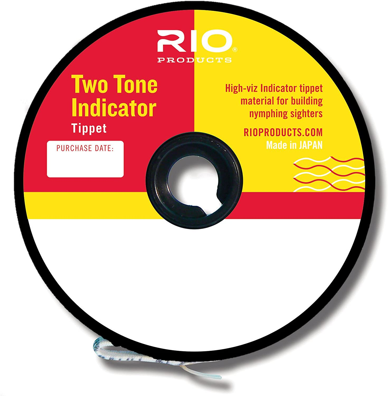 RIO 2-Tone Indicator Pink Chartreuse Fly Fishing Line Nymphing Tippet