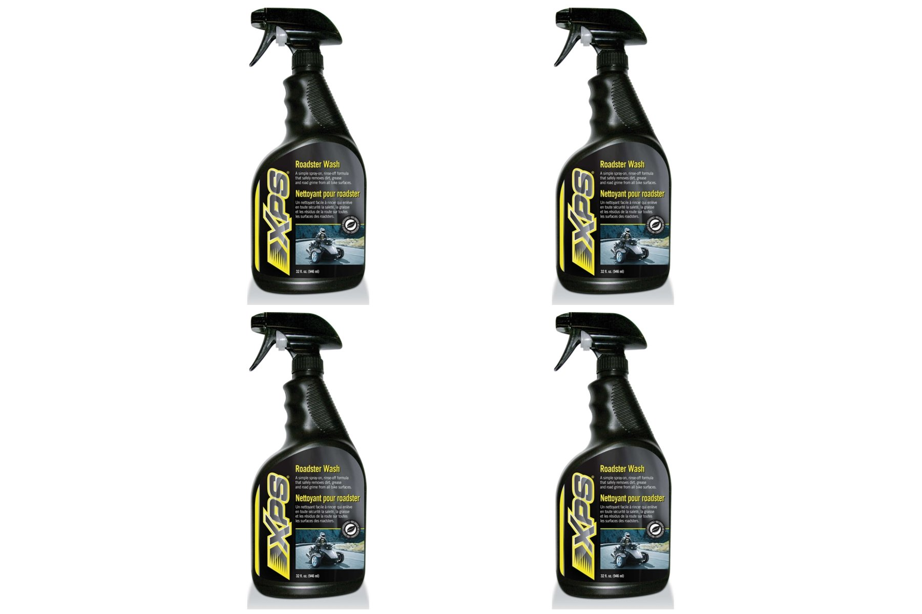 CAN-AM XPS ROADSTER WASH 4 pack of 32 OUNCE SPRAY BOTTLE #219701703