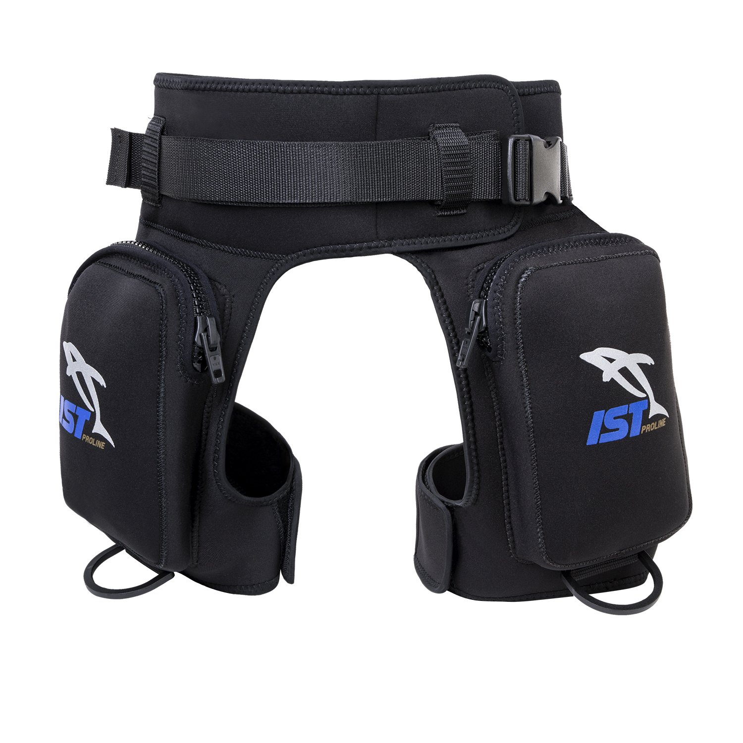 IST DH2 Diver Pocket Thigh Holster With Leg and Belt Straps (Small-Medium)