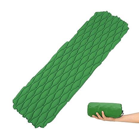 Esterilla inflable Esterilla de Camping,Ultraligero Dormir Pad Durable,Resistente a la rotura,