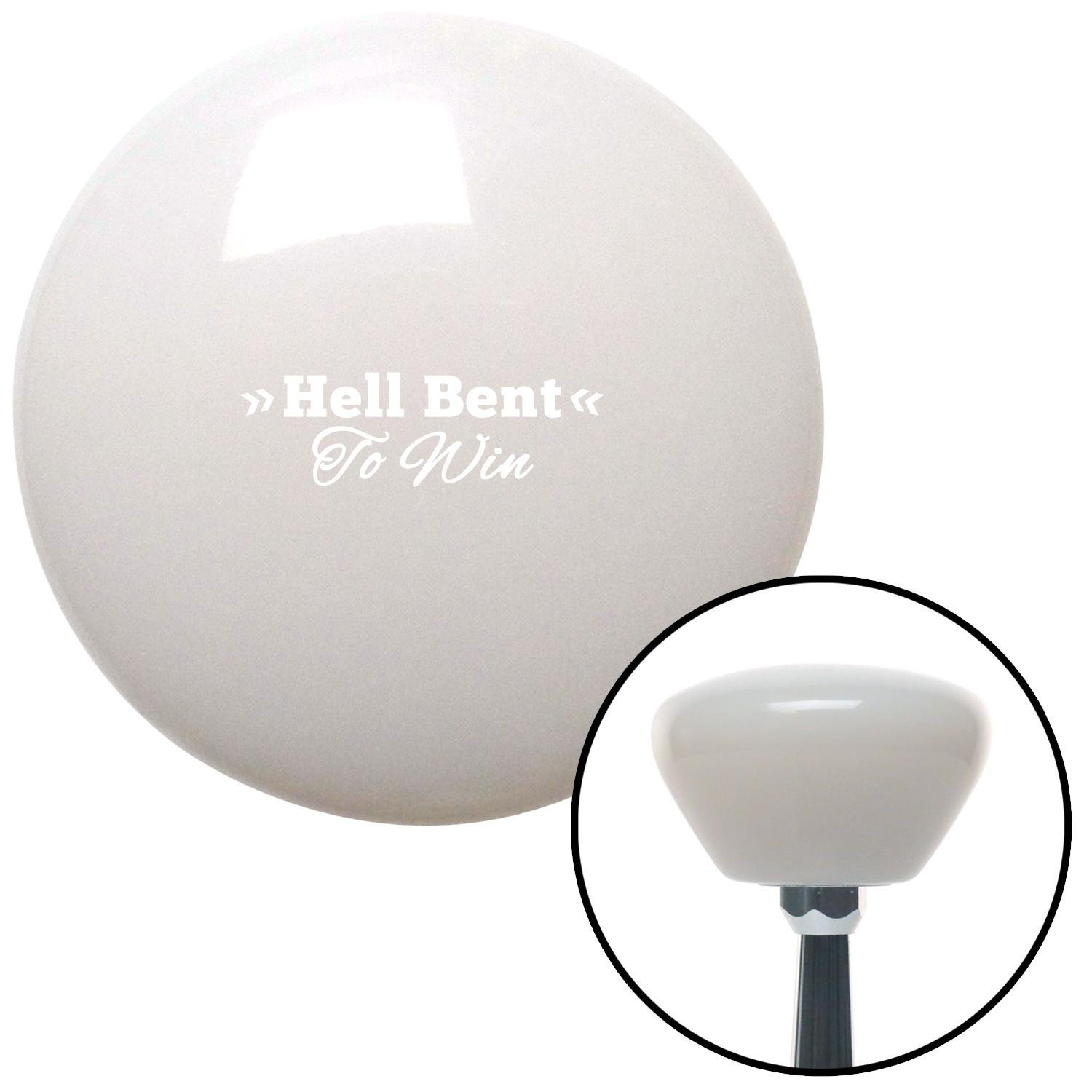 American Shifter 280701 Shift Knob White Hell Bent White Retro with M16 x 1.5 Insert