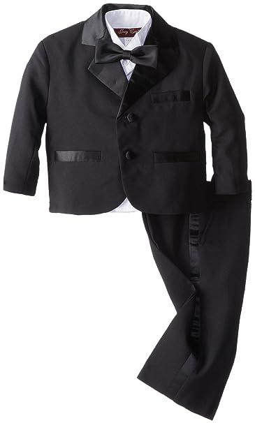 940ee73f8 Joey Couture bebé Boys  Smoking traje sin cola  Amazon.com.mx  Ropa ...