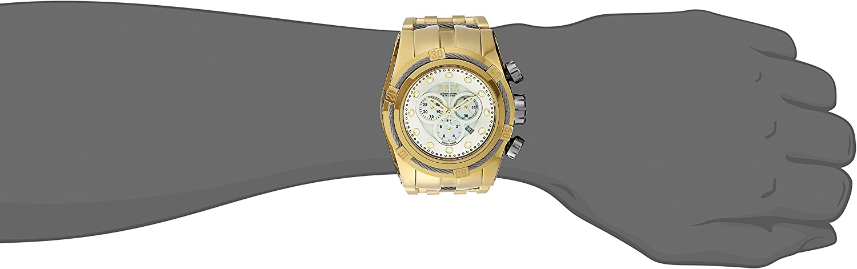 Invicta Men s 12757 Bolt Analog Display Swiss Quartz Gold Watch